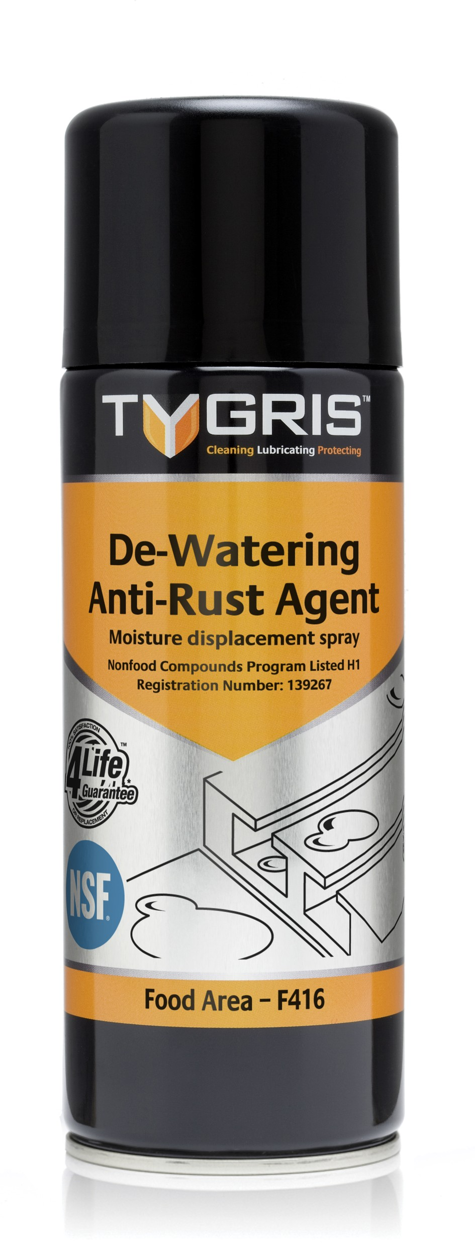 craig international tygris dewatering anti rust agent moisture displacement spray 300ml. Black Bedroom Furniture Sets. Home Design Ideas