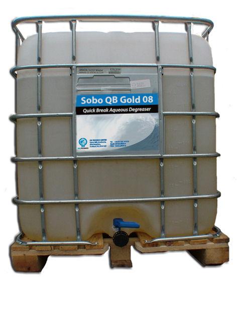 Craig International - Sobo QB Gold 08 Biodegradable Degreaser, 4x5Litre