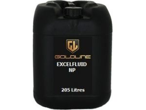 Goldline Excelfluid NP. Milky Soluble Cutting Fluid. 205 Litre Barrel.