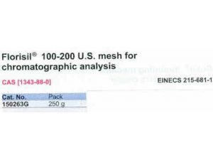 Florisil® 100-200 U.S. Mesh For Chromatographic Analysis 1250 G
