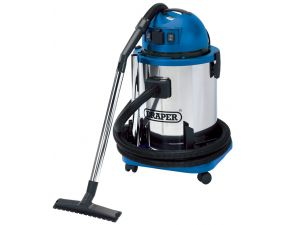 Wet & Dry Vacuum Cleaner WDV50SS-Draper. 230V. 1400W Power Input.