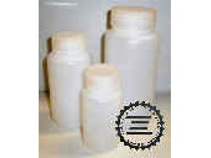 Bottle Round 1000ml, Wide Neck, HDPE, Leak-Proof PP Cap (pk/6)