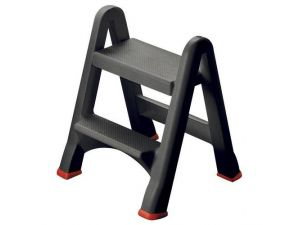 Plastic Steps - Foldable. Two Steps. 150kg Capacity